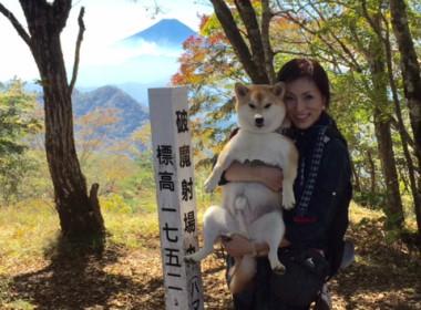 岳と初めてのトレッキング♪